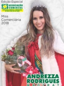 Revista Miss Comerciária 2018